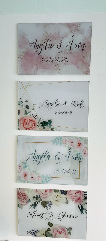 doordeco esküvői táblák